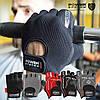 Перчатки для фитнеса и тяжелой атлетики Power System Pro Grip PS-2250 XL Grey (Пара), фото 3