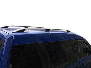 Volkswagen Caddy 2004-2010 гг. Рейлинги Skyport GREY Стандартная база / Рейлинги Фольксваген Кадди