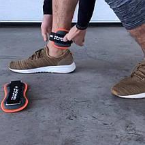 Отягощения 0,5 кг для ног фиксированные Power System PS - 4045 (Пара), фото 2