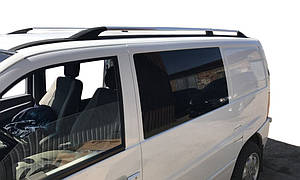 Mercedes Vito W638 1996-2003 Рейлинги ХРОМ Пластиковые ножки / Рейлинги Мерседес Бенц Вито W638