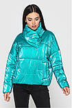 Весняна куртка KTL 295 oversize велюр, фото 2