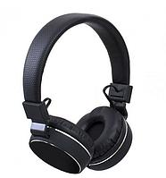 Беспроводные наушники KD 22 BT черного цвета с MP3 плеером FM приемником AUX и micro SD.