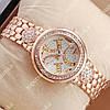 Кварцевые наручные часы Guess crystal Pink Gold/White 1114