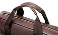 Мужская кожаная сумка портфель для документов Marrant - черный, фото 5