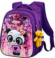 Рюкзак шкільний ортопедичний для дівчаток 1,2 клас Ранець портфель для школи Мишко Winner One R1-001