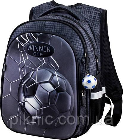 Рюкзак шкільний для хлопчиків Winner One R1-007 Рюкзак портфель ортопедичний 1 клас, фото 2