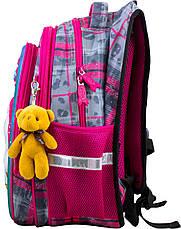 Рюкзак шкільний ортопедичний для дівчаток 1,2 клас Ранець портфель для школи Єдиноріг Winner One R1-003, фото 2