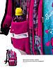 Рюкзак шкільний ортопедичний для дівчаток 1,2 клас Ранець портфель для школи Єдиноріг Winner One R1-003, фото 6