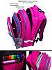 Рюкзак шкільний ортопедичний для дівчаток 1,2 клас Ранець портфель для школи Кицька Winner One R2-164, фото 3