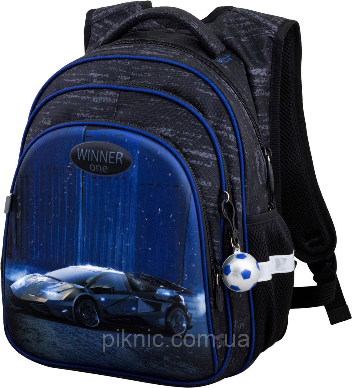 Рюкзак шкільний для хлопчиків Winner One R2-169 Рюкзак портфель ортопедичний 1 клас
