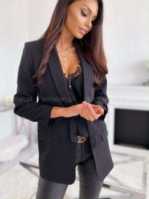 Жіночий піджак, костюмка Барбі, р-р 42; 44-46 (чорний)