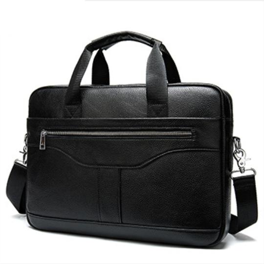 Мужская кожаная сумка портфель для документов Marrant - черный