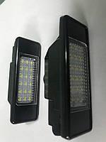 Mercedes Sprinter 2006-2018 гг. Подсветка номера LED (2 шт) / Задние фонари Мерседес Бенц Спринтер