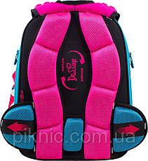 Шкільний ранець для дівчаток DeLune 10-003 Рюкзак ранець портфель каркасний ортопедичний, фото 2