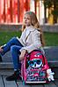 Шкільний ранець для дівчаток DeLune 10-003 Рюкзак ранець портфель каркасний ортопедичний, фото 4