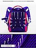 Шкільний ранець для дівчаток Winner One 2053 Рюкзак портфель ортопедичний, фото 5