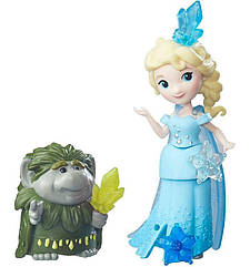 Набор Дисней Маленькое Королевство Холодное сердце Эльза и Гранд Пабби. Hasbro (B7467/B5185)