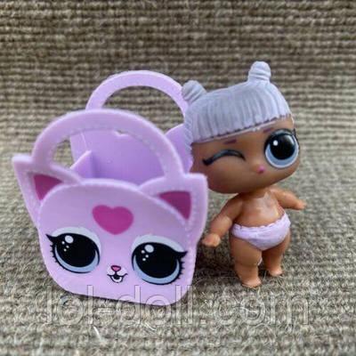 Кукла LOL Surprise 4 Серия Lil Daring Diva - Кошечка Under Wraps Лол Сюрприз Без Шара Оригинал