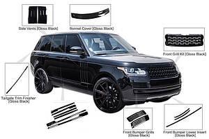 Range Rover IV L405 2014↗ гг. Комплект накладок BlackEdition / Комплект обвесов Ленд ровер