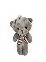 Брелок-ведмедик сірий