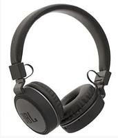 Беспроводные наушники KD20 черного цвета Bluetooth  с MP3 плеером FM приемником AUX и micro SD.