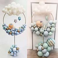 Пластиковая подставка круглая для воздушных шаров 1,7 метра