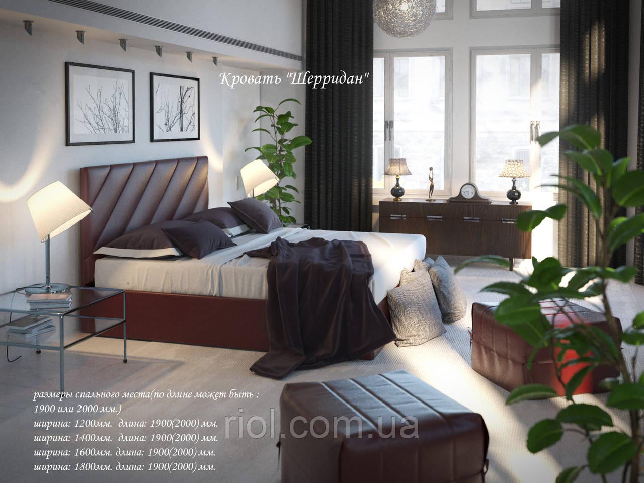 Кровать - подиум Шеридан с подъемным механизмом
