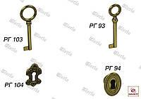 Ключи декоративные для шкафа