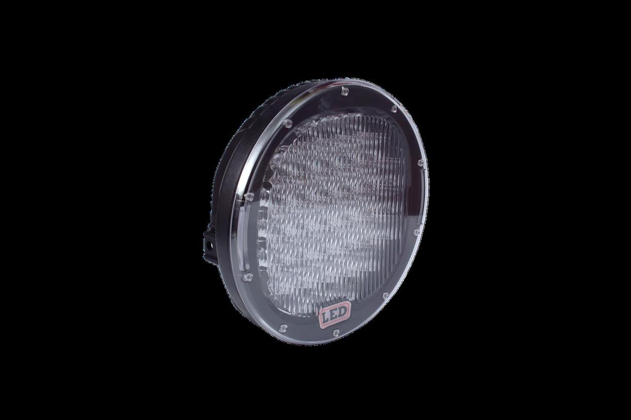 Фара LED круглая 96W (32 диода) 222 мм х 222 мм х 72 мм