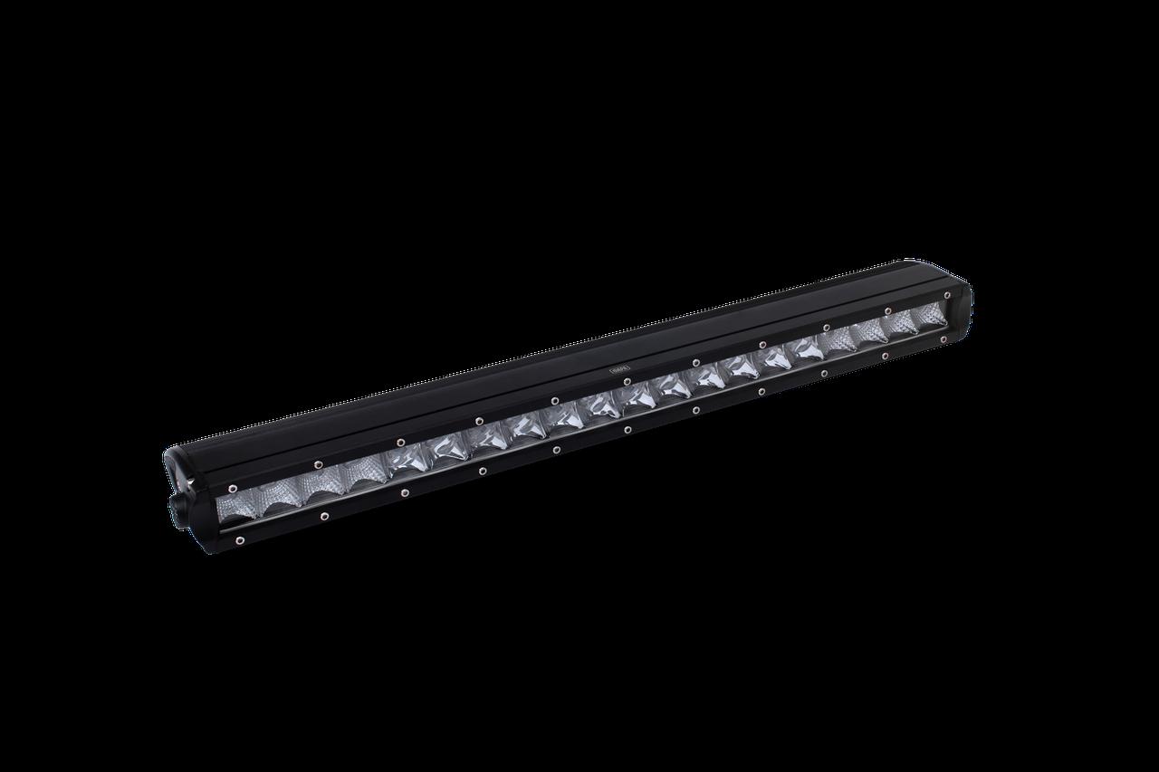 Фара LED BAR прямоугольная 150W, 30 ламп, смеш. луч 10/30V 6000K (790мм х 80мм х 45мм)