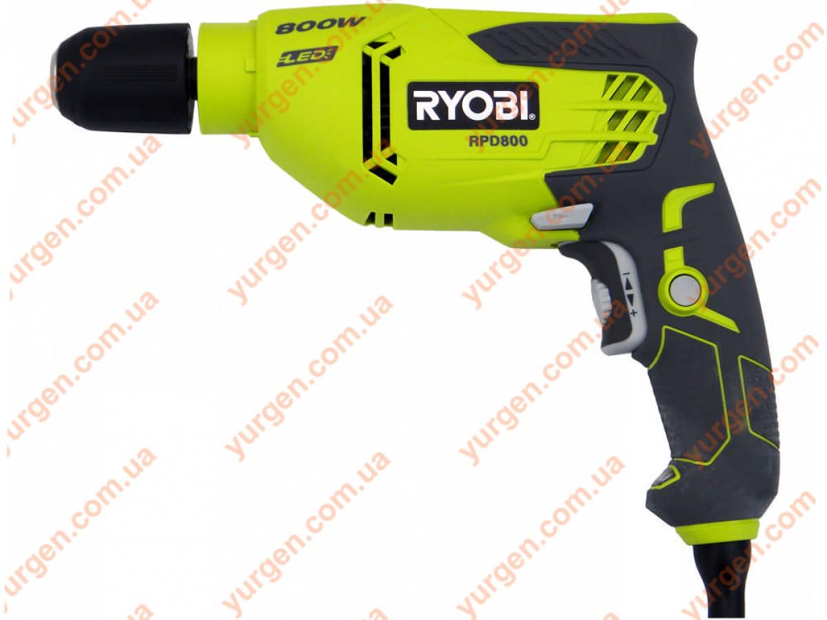 Дриль ударний RYOBI RPD800K