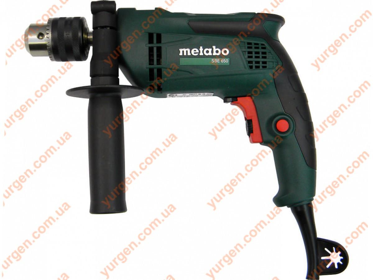 Дрель ударная Metabo SBE 650