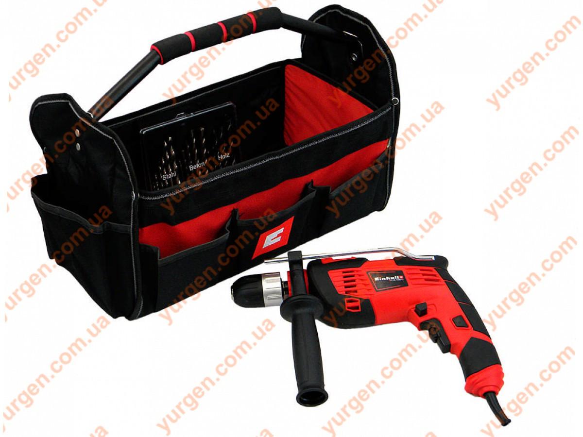 Дрель ударная Einhell TC-ID 1000 E Kit