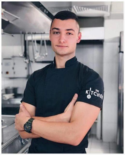 Кители для поваров в стиле Hi-tech TT-4.33-KМ (Black) TEXSTYLE
