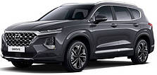 Защитаы двигателя на Hyundai Santa Fe 4 (c 2018--)