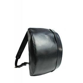 Кожаный рюкзак Cloud L черный сафьян