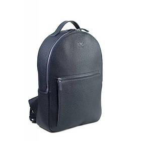 Кожаный рюкзак Groove L темно-синий флотар