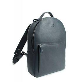 Кожаный рюкзак Groove L синий сафьян
