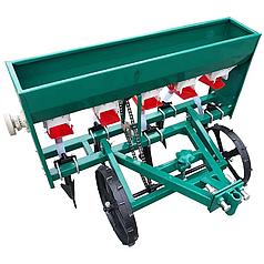 Сеялка зерновая для мотоблока, мототрактора 6 рядная