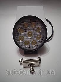 Робочий LED фара 27 Вт Лідер