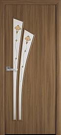 Двери Новый Стиль Лилия Р1 стекло сатин