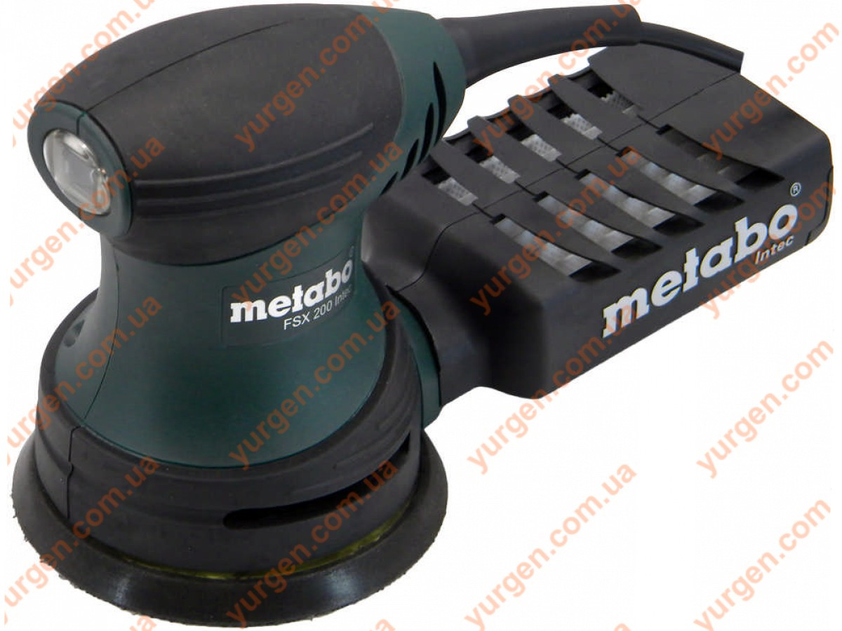 Эксцентриковая ШМ Metabo FSX 200 INTEC