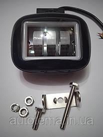 LED фара 45 Вт з габаритом