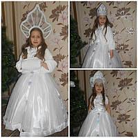 Шикарный костюм снегурочки прокат. Детский костюм снегурочка прокат Киев