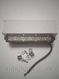 Автомобільна світлодіодна LED фара 18 вт Лідер дальнє світло