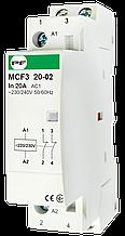 Модульний магнітний пускач MCF3 20-02 230V