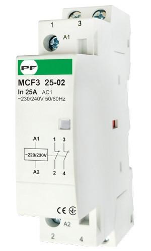 Модульний магнітний пускач MCF3 25-02 230V