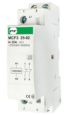 Модульный магнитный пускатель MCF3 25-02 230V, фото 2