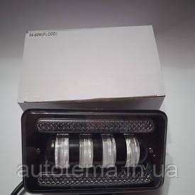 LED фара 60 Вт з габаритом 15 см 9см Лідер