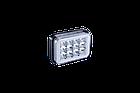 Фара LED прямоугольная 18W (LED кольцо + 2 цвета + strobe light), фото 3